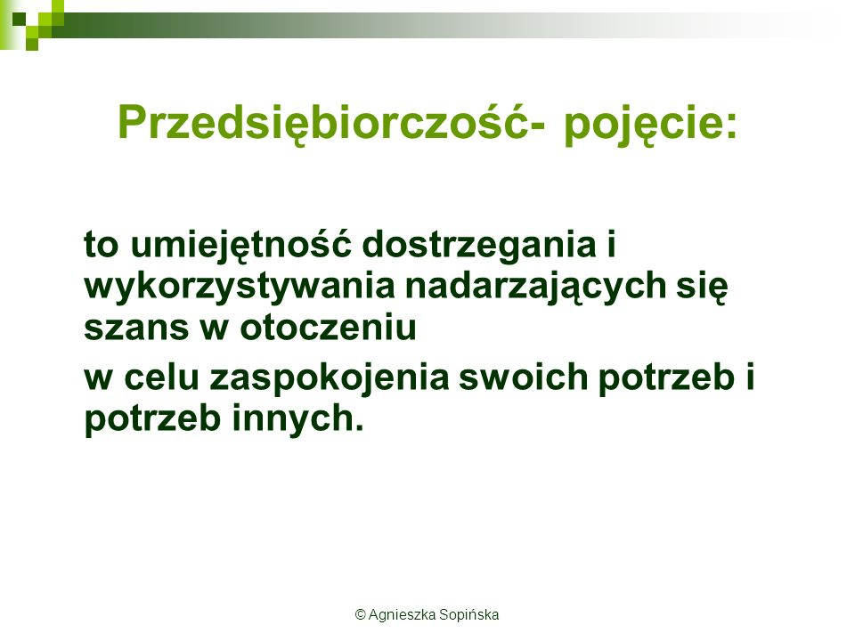 Przykłady przedsiębiorczości Poduszka powietrzna dla rowerzysty Kluby taneczne dla pań lub panów © Agnieszka Sopińska