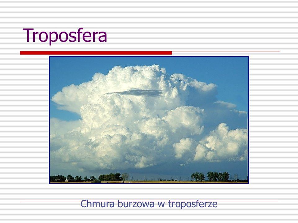 Stratosfera - Zaczyna się od wysokości ok.