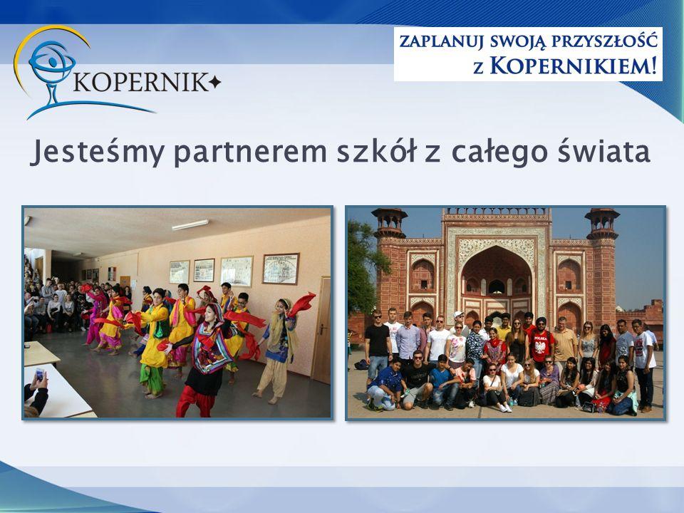 Jesteśmy partnerem szkół z całego świata