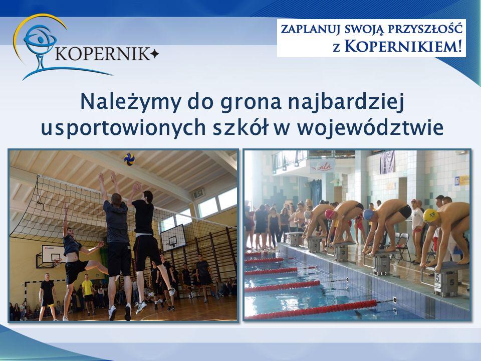 Należymy do grona najbardziej usportowionych szkół w województwie