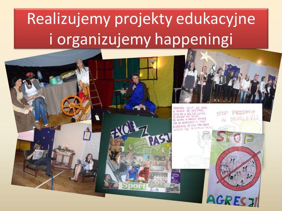 Realizujemy projekty edukacyjne i organizujemy happeningi
