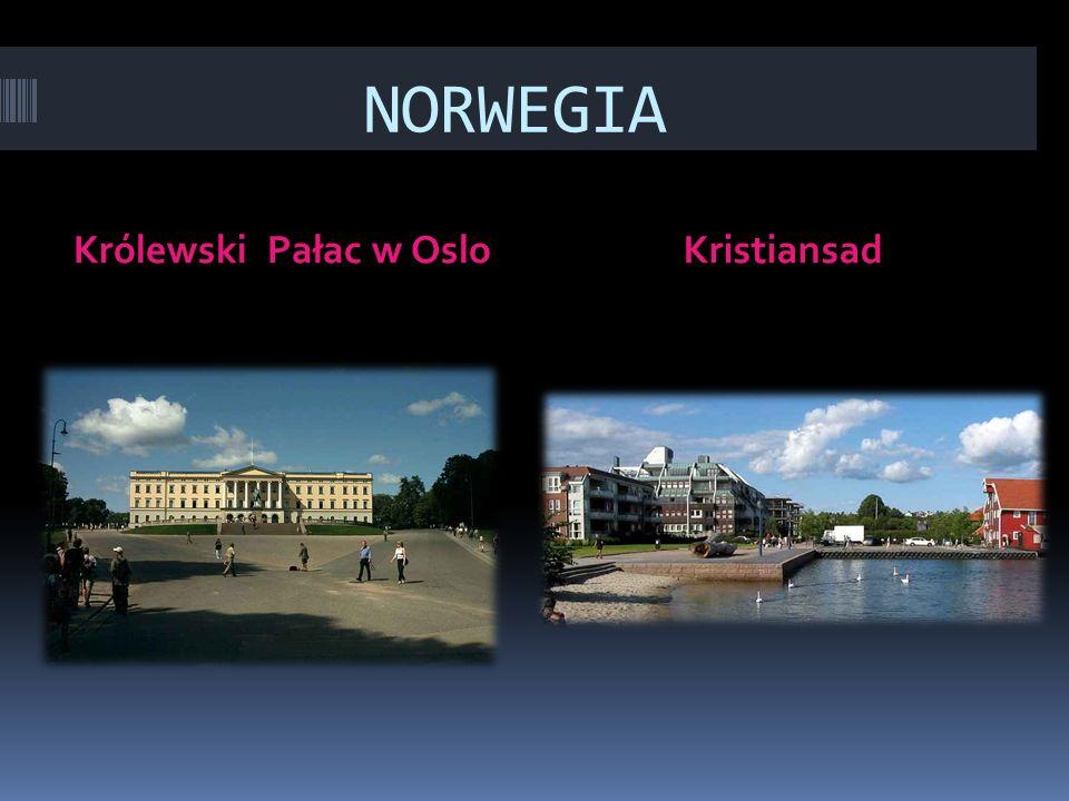 NORWEGIA Królewski Pałac w OsloKristiansad