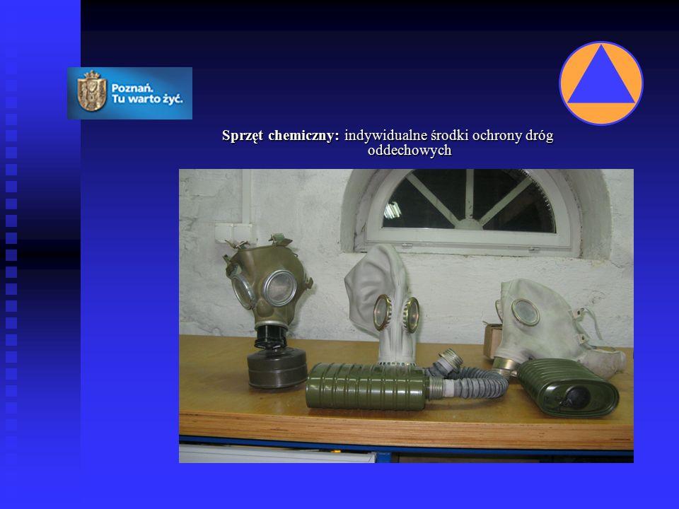 Sprzęt chemiczny: indywidualne środki ochrony dróg oddechowych