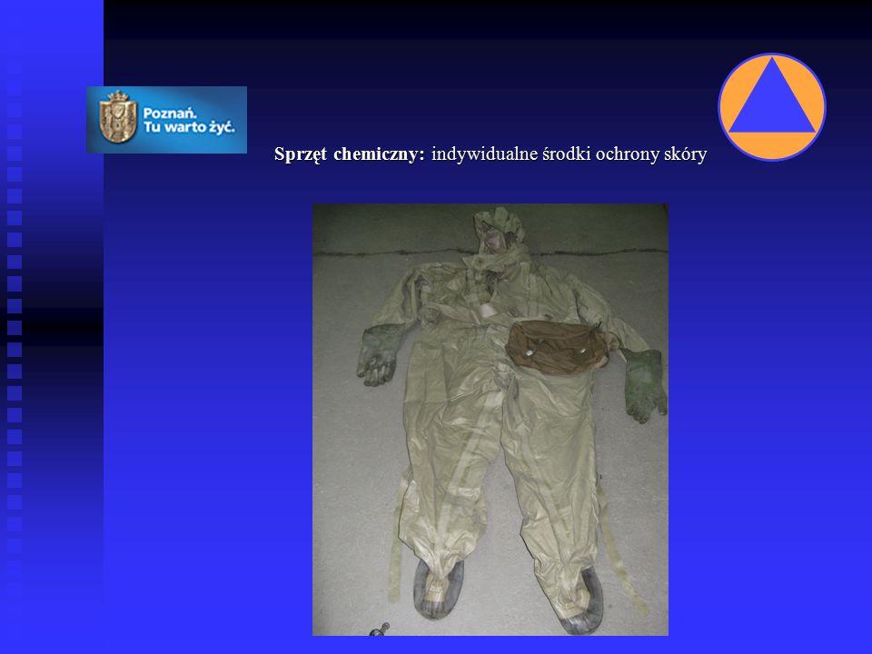 Sprzęt chemiczny: przyrządy rozpoznania skażeń chemicznych