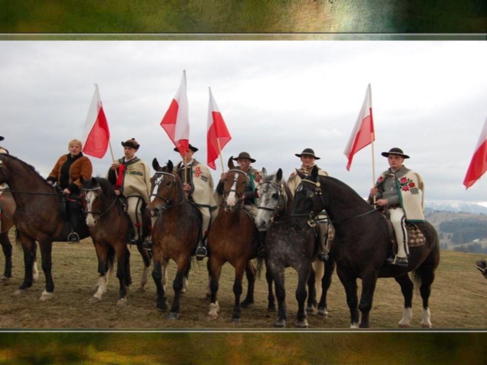 W II połowie XIX wieku, w Królestwie Kongresowym; w Galicji weszły w modę konne banderie, towarzyszące wizytom dostojników kościelnych lub państwowych.