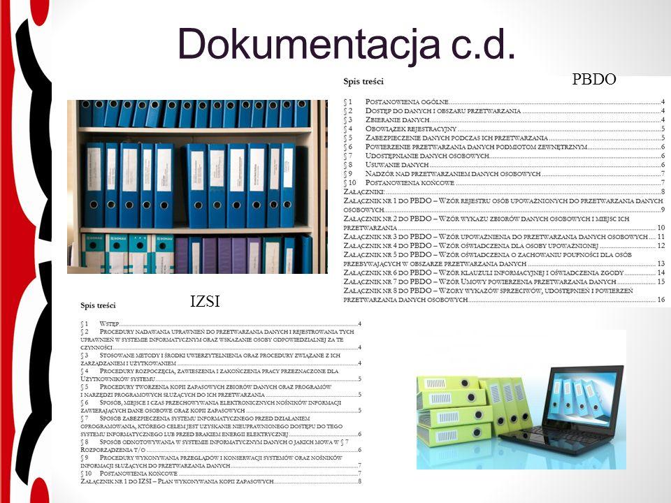 Dokumentacja c.d. IZSI PBDO