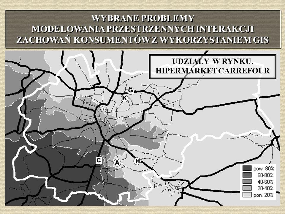 Allkauf Carrefour Geant Hit Krakchemia I miejsce na rynku