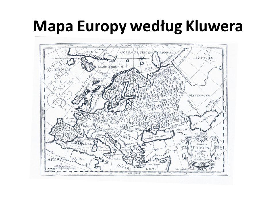 Mapa Europy według Kluwera