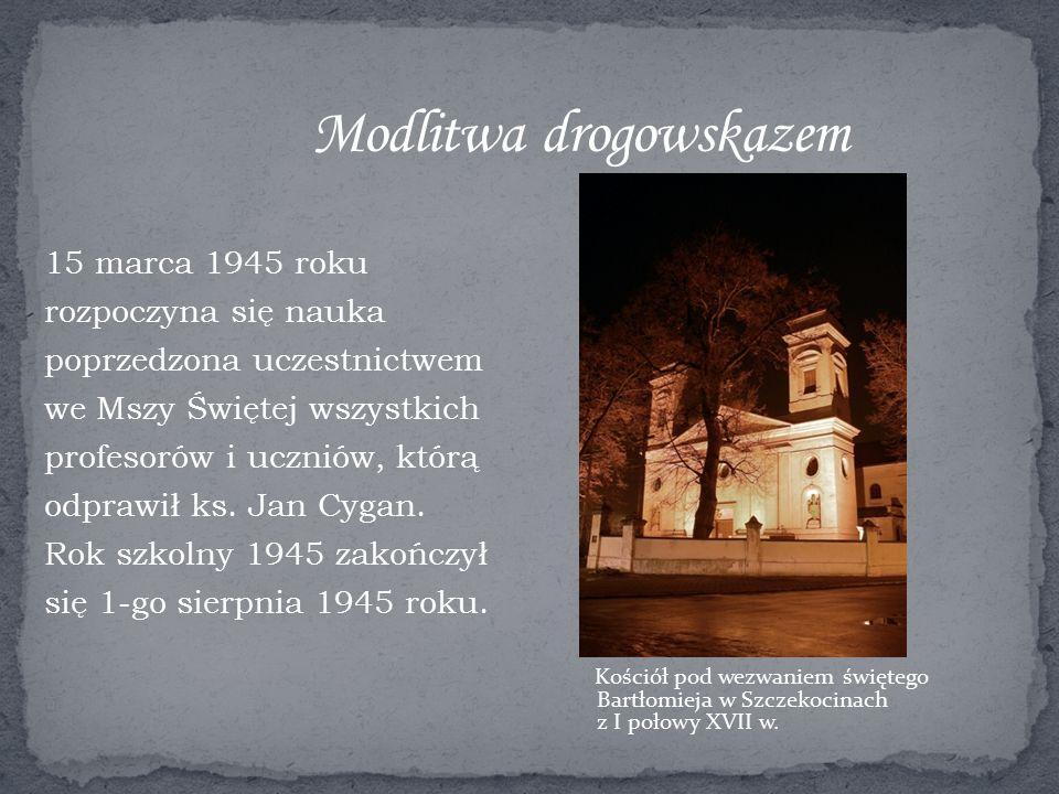 Kościół pod wezwaniem świętego Bartłomieja w Szczekocinach z I połowy XVII w.