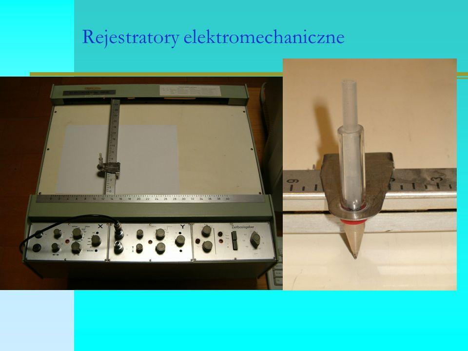 Rejestratory elektromechaniczne