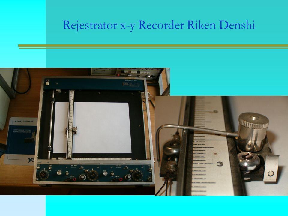 Rejestrator x-y Recorder Riken Denshi