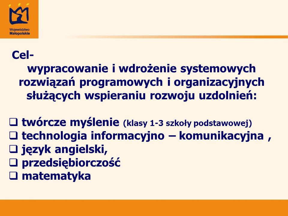 Dziękuję za uwagę Roman Ciepiela Wicemarszałek Województwa Małopolskiego