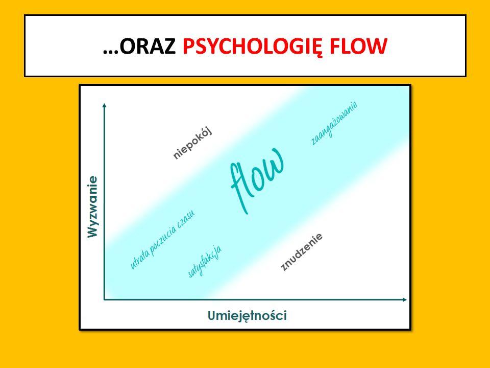…ORAZ PSYCHOLOGIĘ FLOW