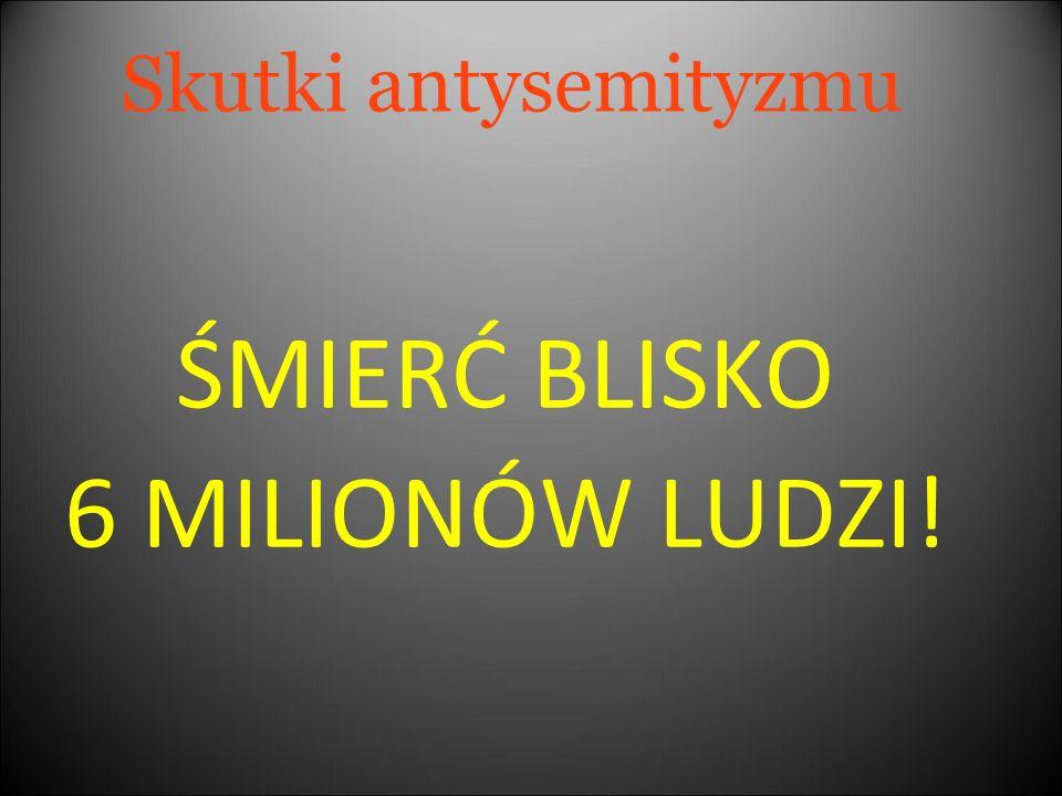 ŚMIERĆ BLISKO 6 MILIONÓW LUDZI!
