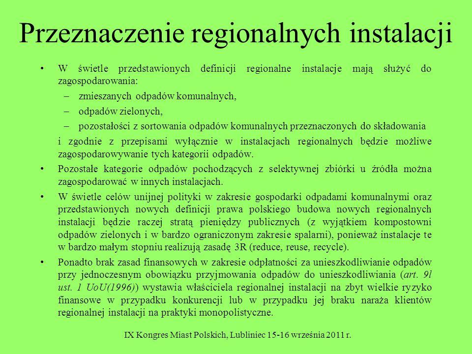 IX Kongres Miast Polskich, Lubliniec 15-16 września 2011 r.