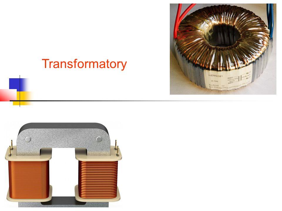 Definicja i symbol transformatora Transformator jest urządzeniem, w którym następuje przekazywanie energii z jednego obwodu (zwanym strona pierwotna) do drugiego obwodu (zwanym strona wtórna) za pośrednictwem pola magnetycznego.