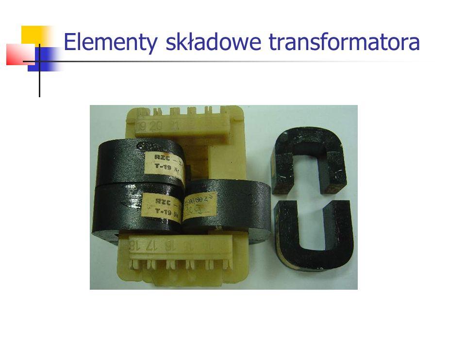 Stosunek ilości zwojów transformatora wynosi 20/160.