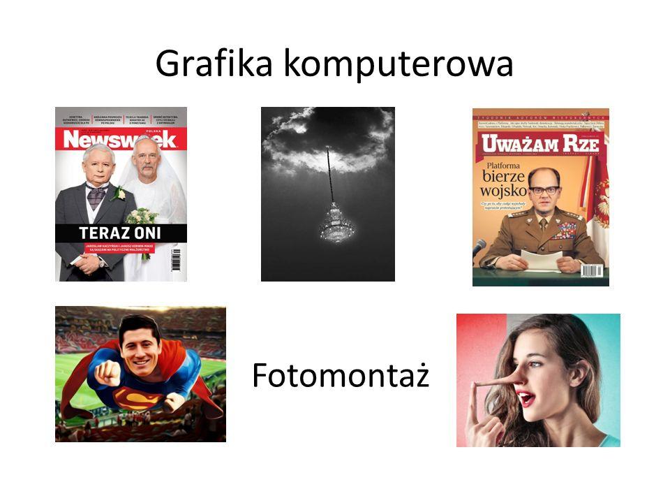 Grafika komputerowa Fotomontaż