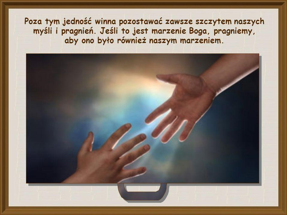 Przede wszystkim musimy uczynić ją naszą. Możemy użyczyć warg i serca Jezusowi, by nadal kierował te słowa do Ojca i każdego dnia z ufnością powtarzał