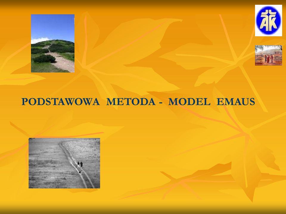 PODSTAWOWA METODA - MODEL EMAUS