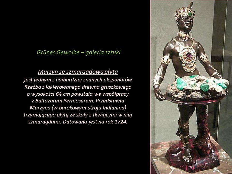 Grünes Gewölbe – galeria sztuki Kąpiel Diany przedstawia rzymską boginię w kąpieli.