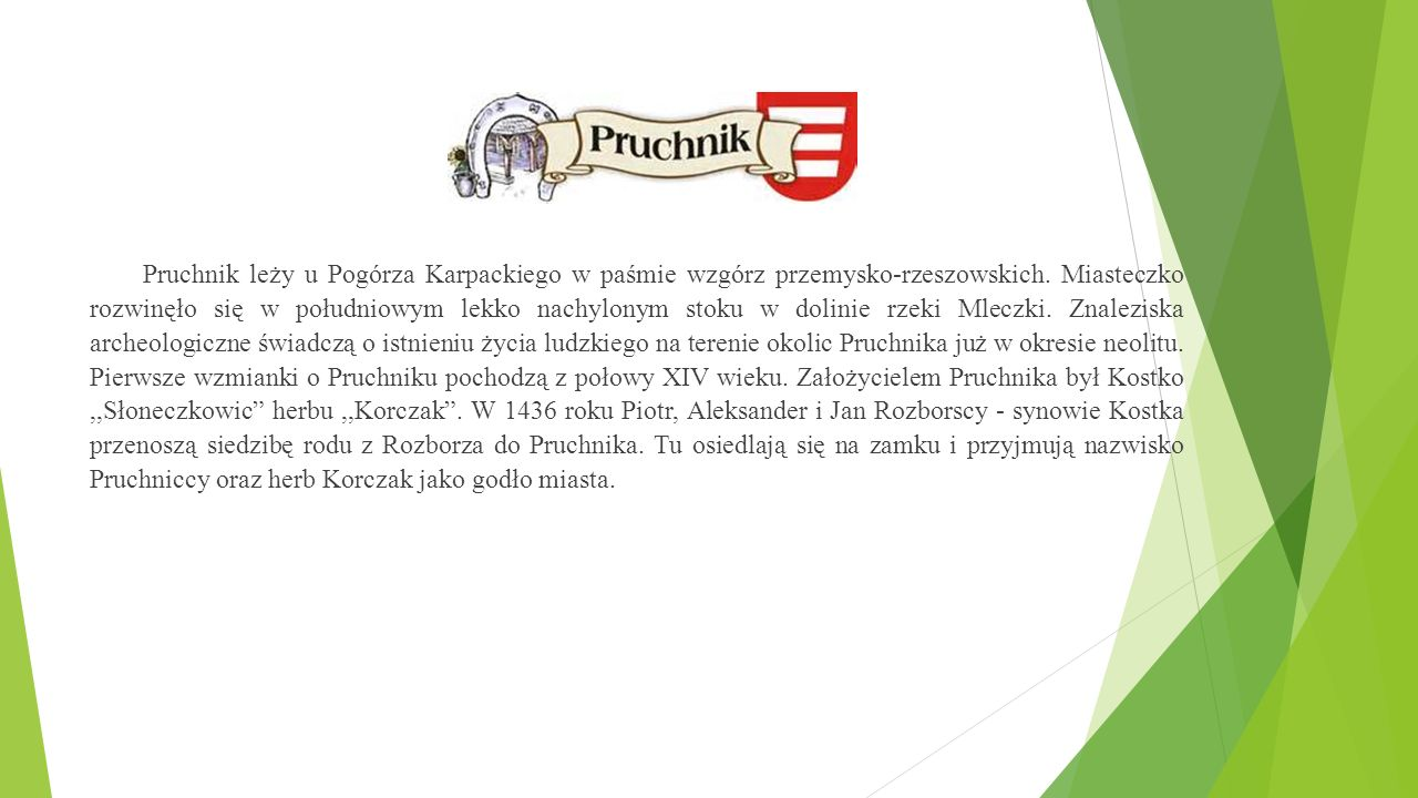 """,,Ocalić od zapomnienia"""" Historia Zamku w Pruchniku Autor: Gabriel Mikłasz"""