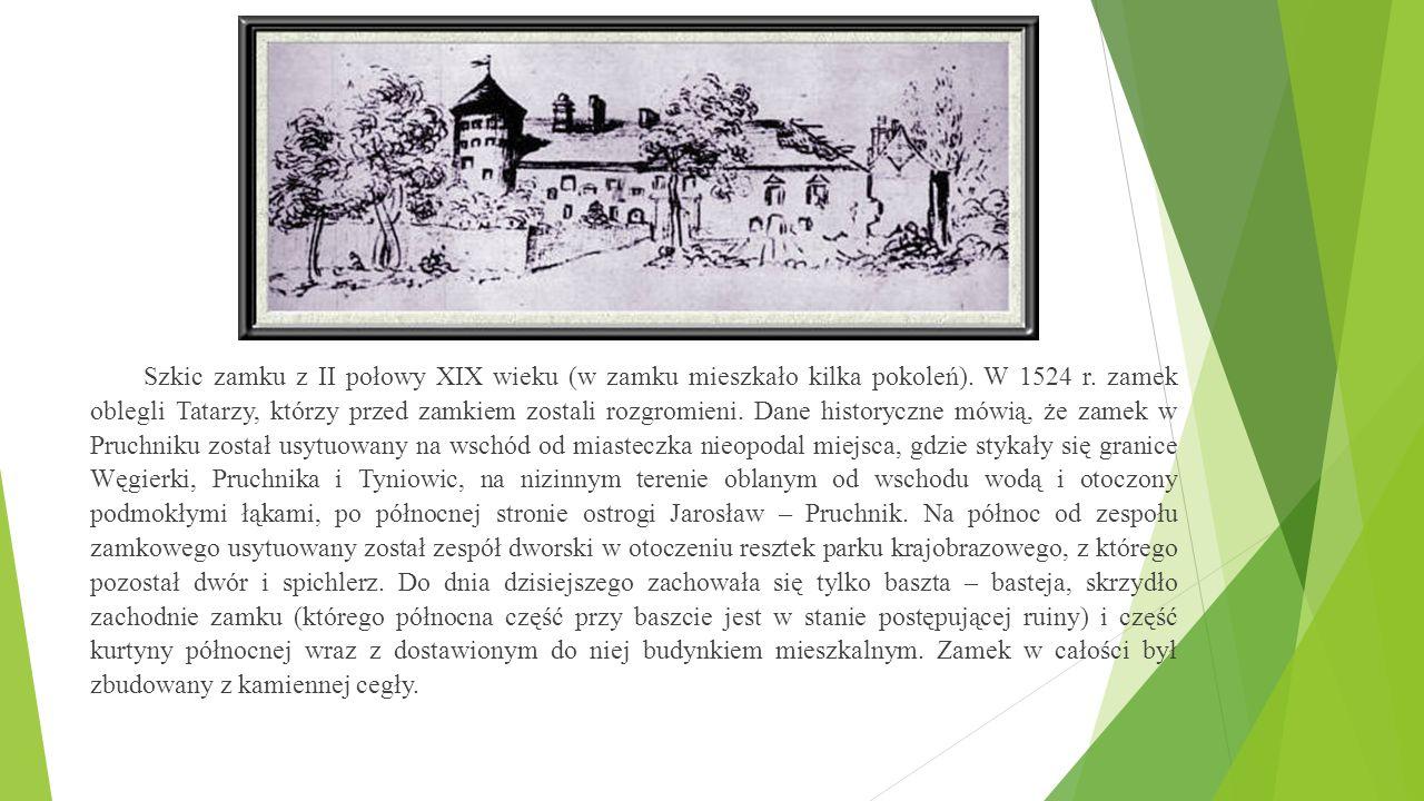 Pruchnik leży u Pogórza Karpackiego w paśmie wzgórz przemysko-rzeszowskich.