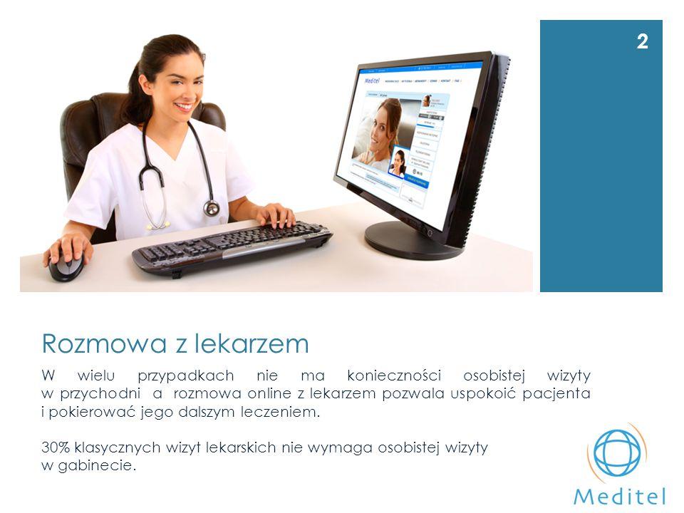 Wideokonsultacje medyczne Nie ma wyboru – jest konieczność Konsultacje lekarskie online ułatwiają kontakt z lekarzem i obniżają koszty.