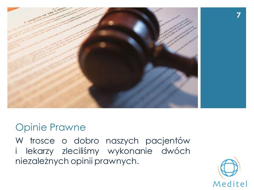 Opinie Prawne W trosce o dobro naszych pacjentów i lekarzy zleciliśmy wykonanie dwóch niezależnych opinii prawnych.