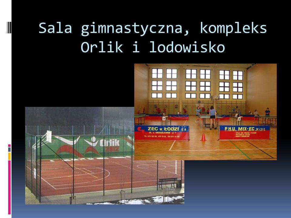 Sala gimnastyczna, kompleks Orlik i lodowisko
