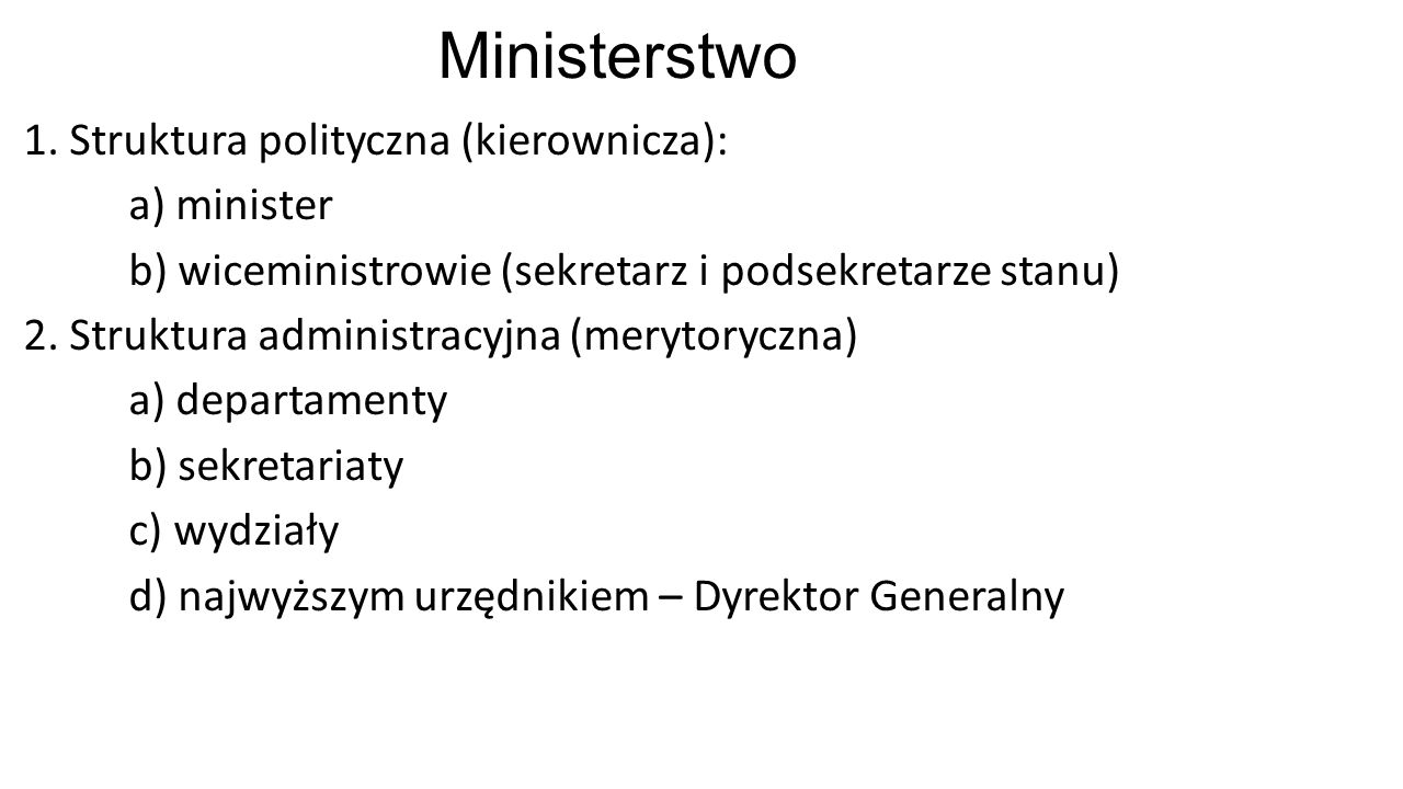 Ministerstwo 1.