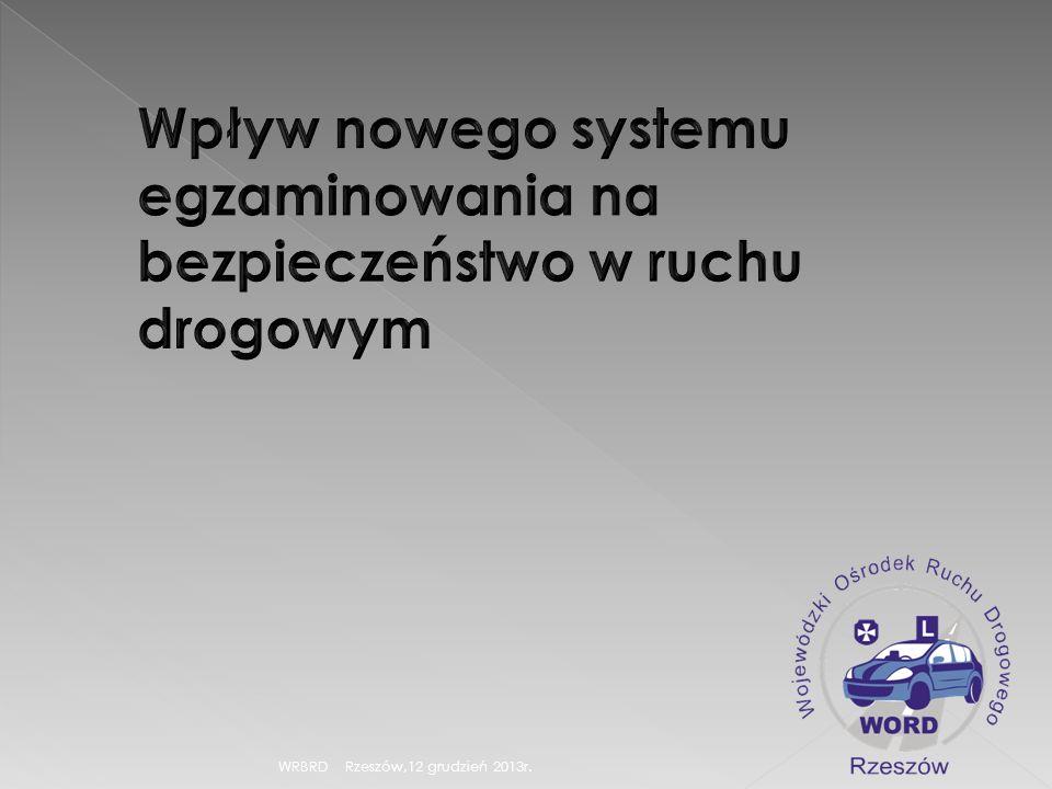 WRBRD Rzeszów,12 grudzień 2013r.