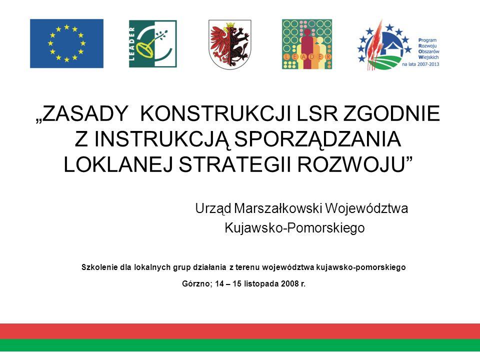 7.Uzasadnienie podejścia zintegrowanego dla przedsięwzięć planowanych w ramach LSR.