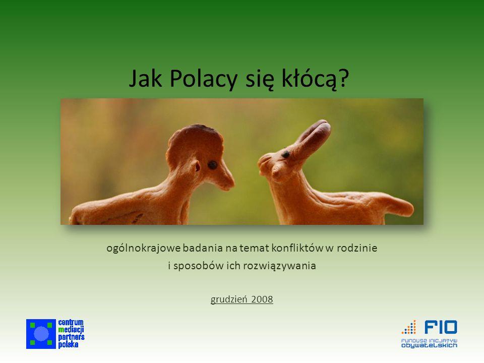 Jak Polacy się kłócą.