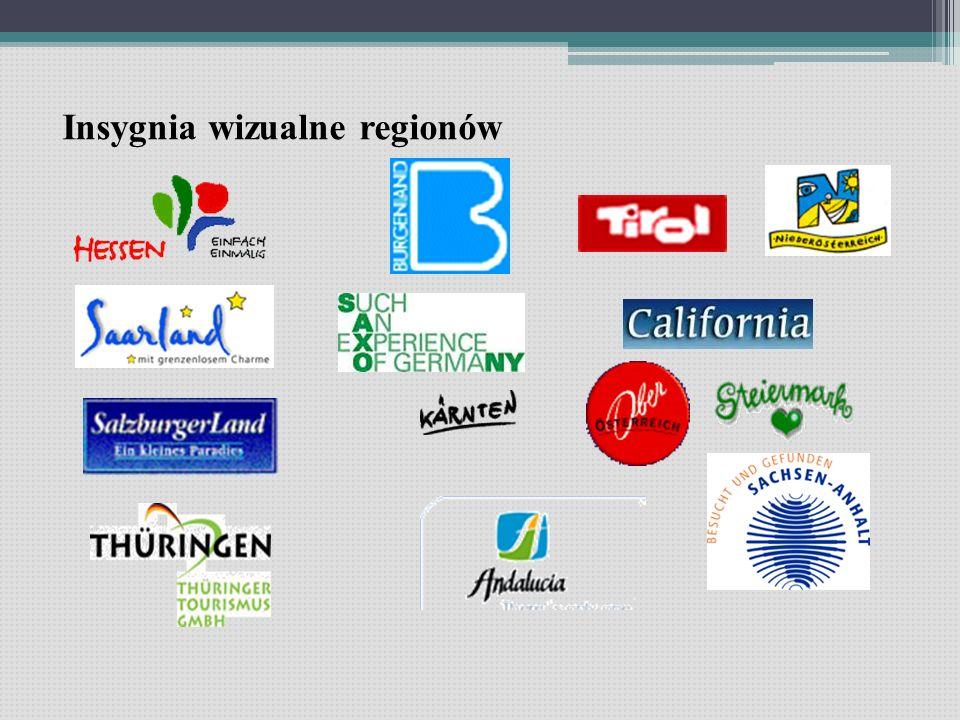 Insygnia wizualne regionów