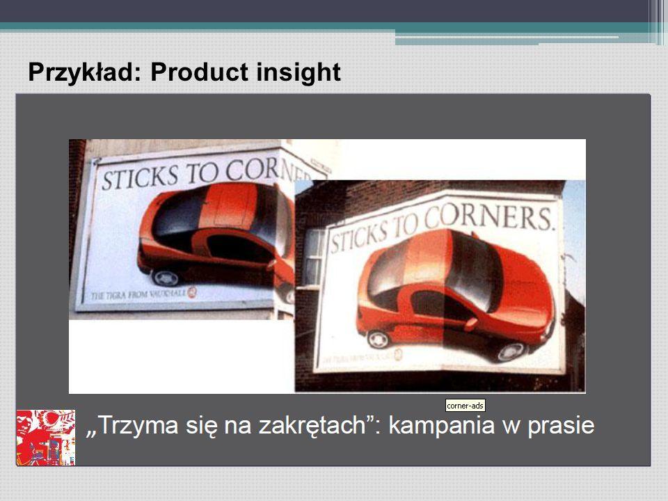 Przykład: Product insight