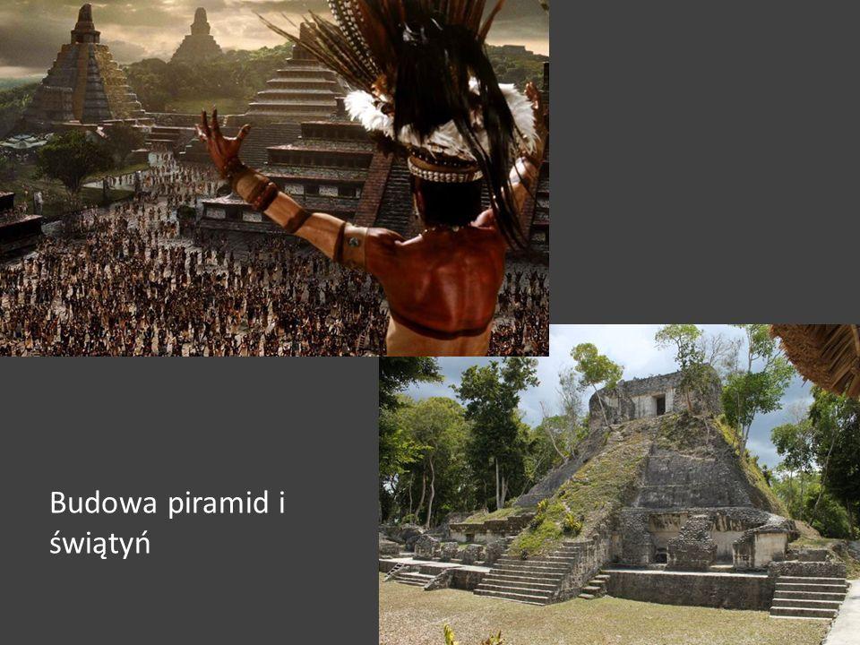 Budowa piramid i świątyń