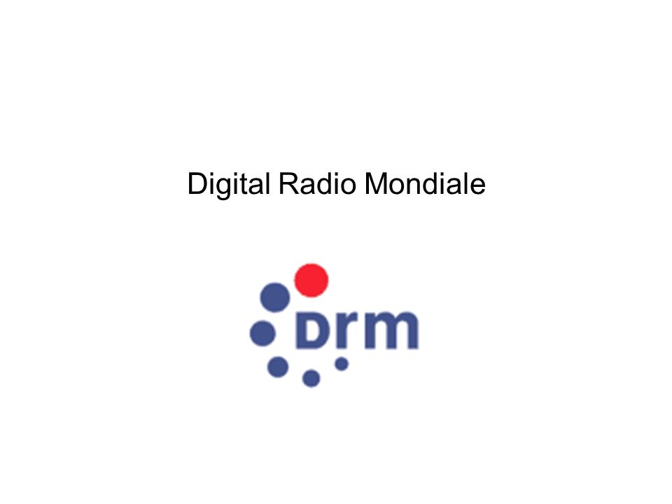 Digital Radio Mondiale