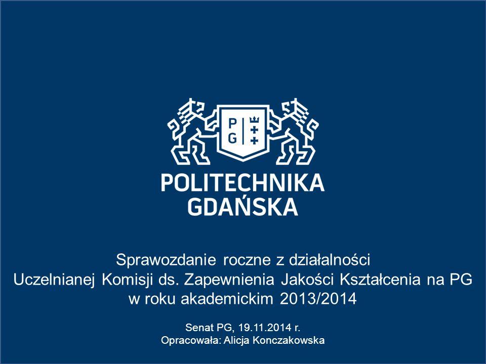 5.Inne działania projakościowe: Sprawozdanie roczne UKZJK 2013/2014 5.1.
