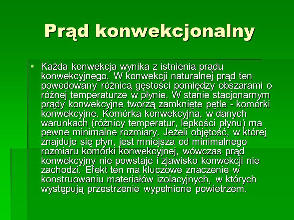 Wykorzystanie konwekcji cz.