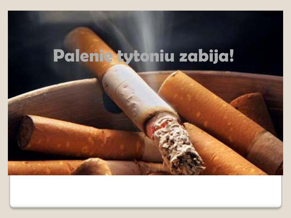 Skutki palenia tytoniu  Żółte zęby  Nieświeży oddech