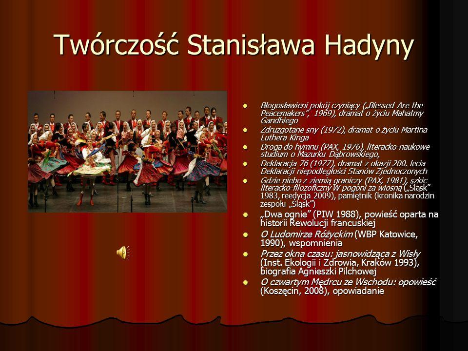 Nasz Patron Dla naszej szkoły najważniejszą datą, w ostatnim okresie, okazał się 12 czerwca 2001 roku, kiedy to odbyła się ceremonia nadania naszej szkole imienia Stanisława Hadyny i sztandaru.