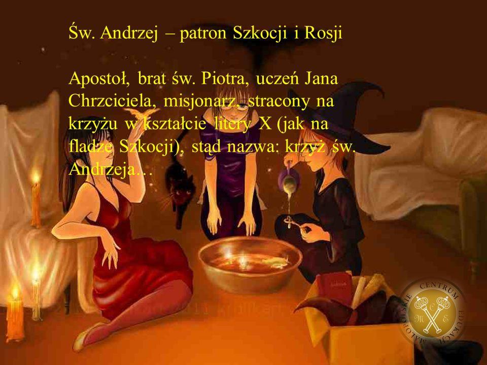 W wigilię św. Andrzeja panny wróżyły sobie z zamiarem zaklinania losu na szybkie zamążpójście…
