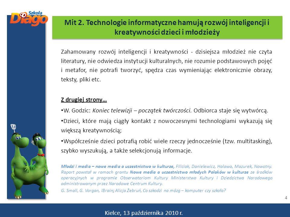 15 EDUKACJA POLSKA S.A.www.diago.edu.pl Nowoczesny pod względem technicznym.