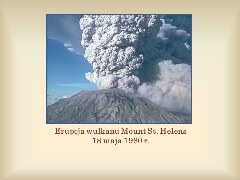 Erupcja wulkanu Mount St. Helens 18 maja 1980 r.