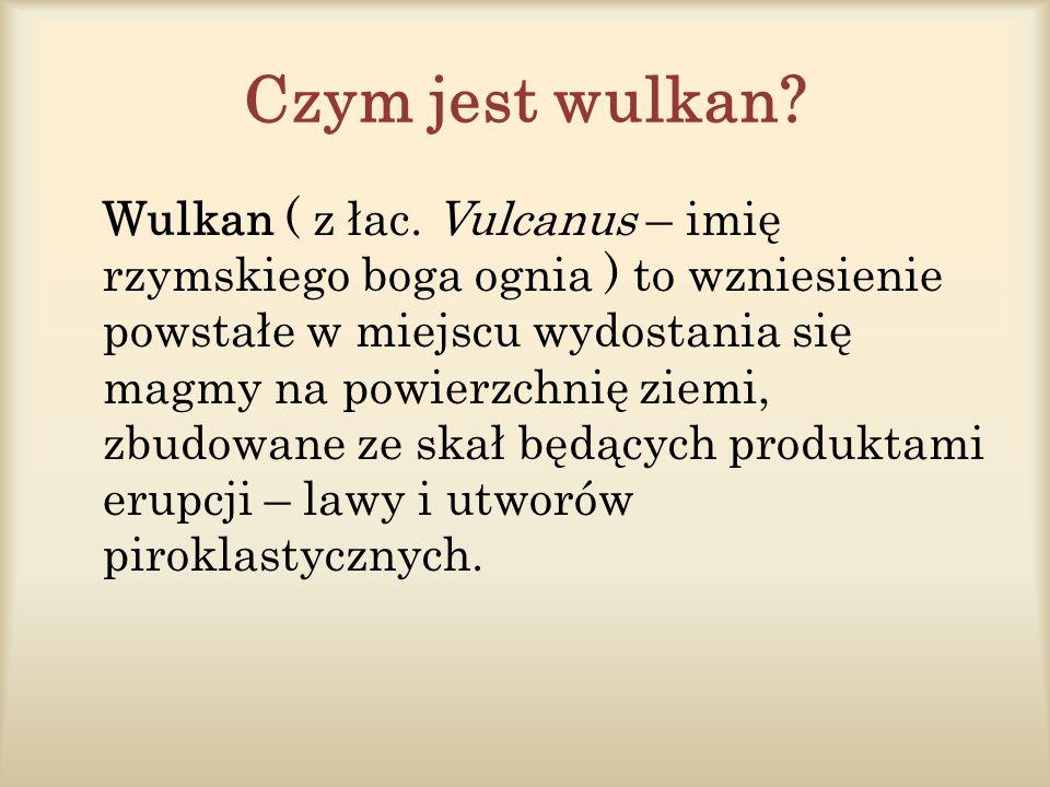 Czym jest wulkan. Wulkan ( z łac.