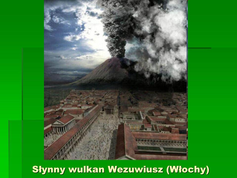 Słynny wulkan Wezuwiusz (Włochy)