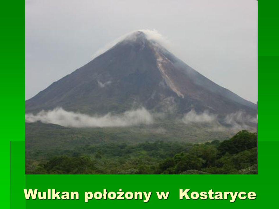 Wulkan położony w Kostaryce