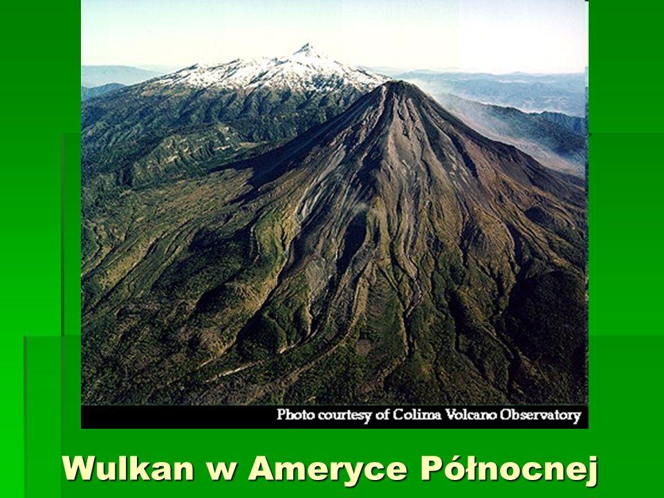 Wulkan w Ameryce Północnej