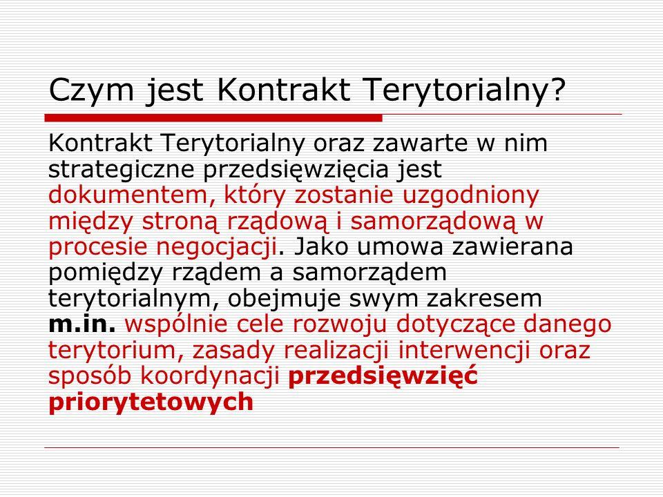 Czym jest Kontrakt Terytorialny.
